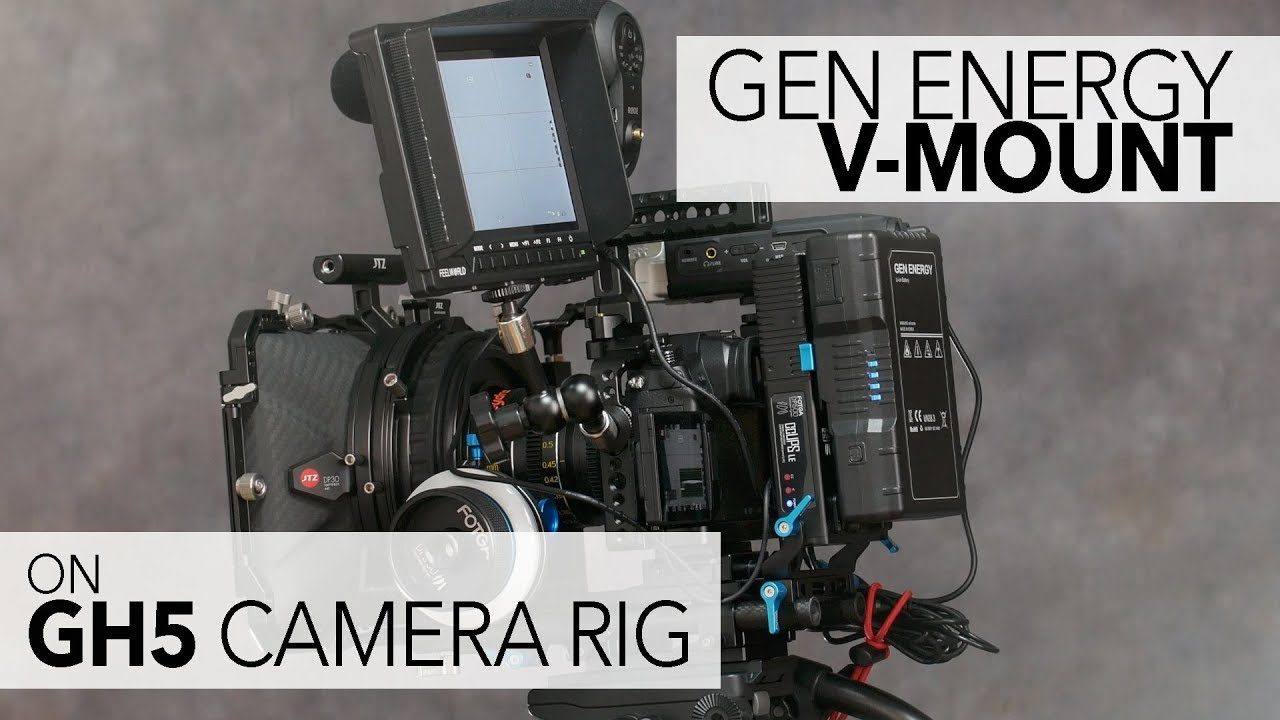 How To Your Gh5 Rig With A V Mount Battery