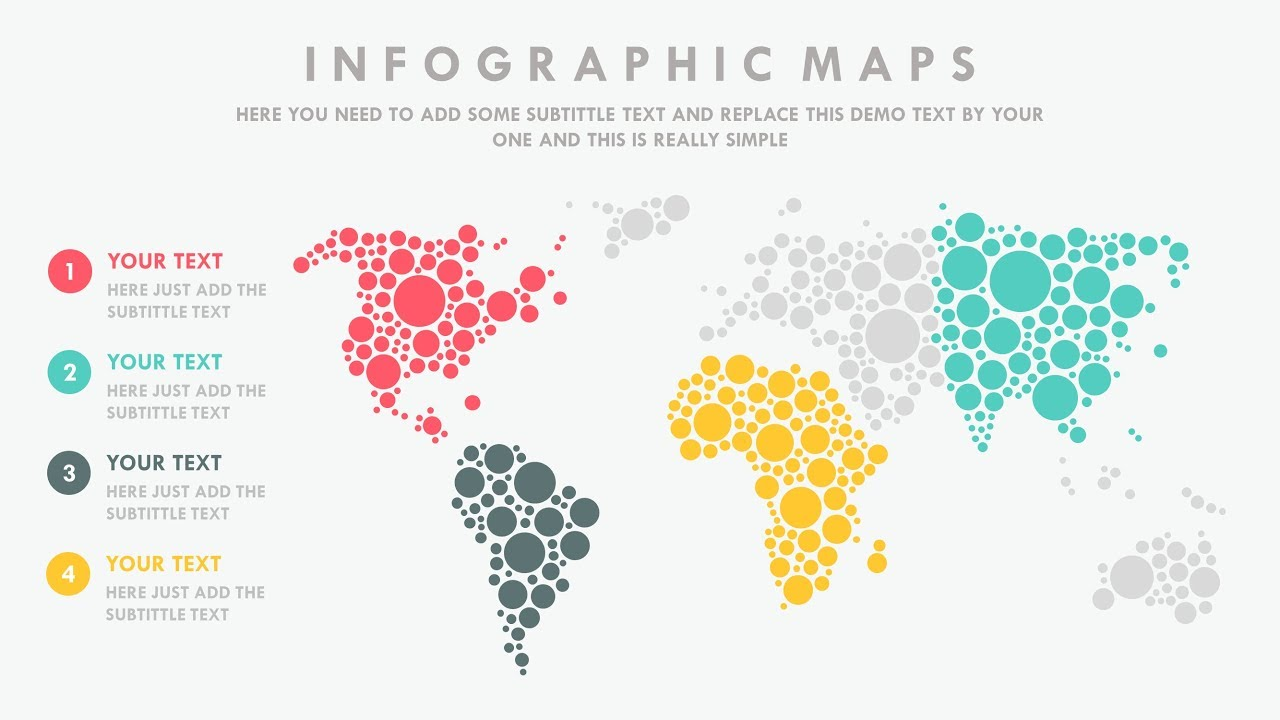 Powerpoint Global Map.Powerpoint Animation Tutorial World Map Youtube
