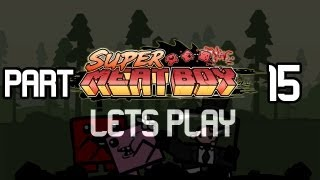 Lets Play Super Meat Boy: Part 15 Dark Worlds Chapter 2 Cont!