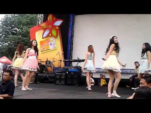 Princess - Saranghae 사랑해 ( Live Balai Kota Bandung 2012) HD