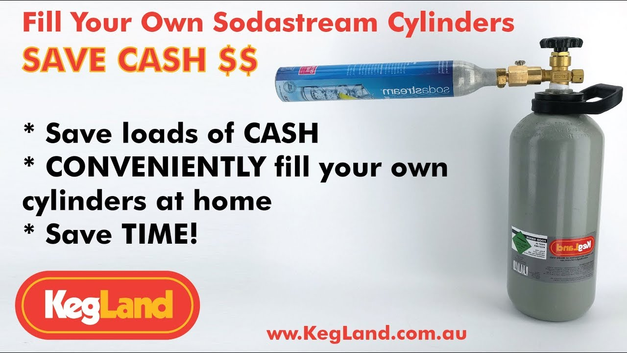 Soda stream for gas option | Aussie Home Brewer