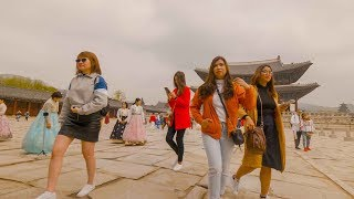 Philippine girls at  Kyongbok Palace ,Seoul,Korea