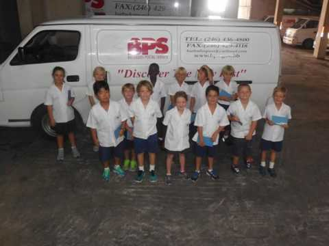 PYP5 Barbados Post Office Trip 2016-17