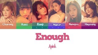 Apink- enough (color coded legendado han/rom/pt-br)