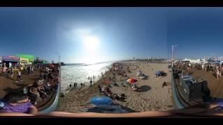 360 Santa Monica California - Band at the Pier 3