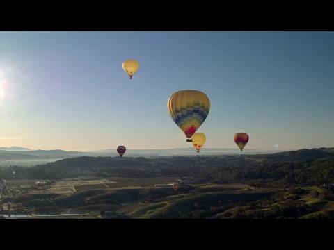 DJI - Napa Valley Hot Air Balloon