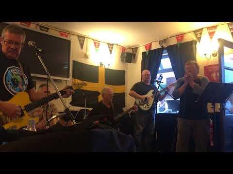 Simon James & DNR Live At Railway Pub Charity Gig - U2 - One Love