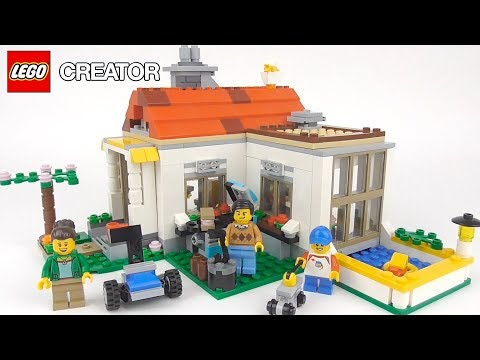 LEGO Creator Modular Summer Villa (31069) - Toy Unboxing and
