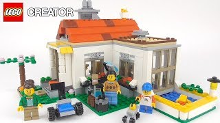 LEGO Creator Modular Summer Villa (31069) - Toy Unboxing and Speed Build