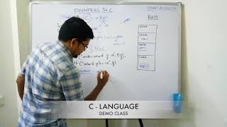 C language demo class by Ramakrishna (RK Sir)