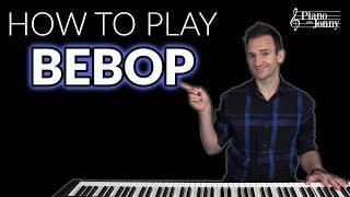 Wanna Play Bebop Piano? Start Here 🏁 видео
