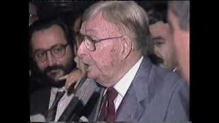 Pregó de fires a càrrec de Xavier Cugat (26/10/1986)