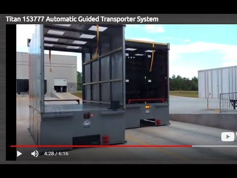 Titan 153777 Automatic Guided Transporter System