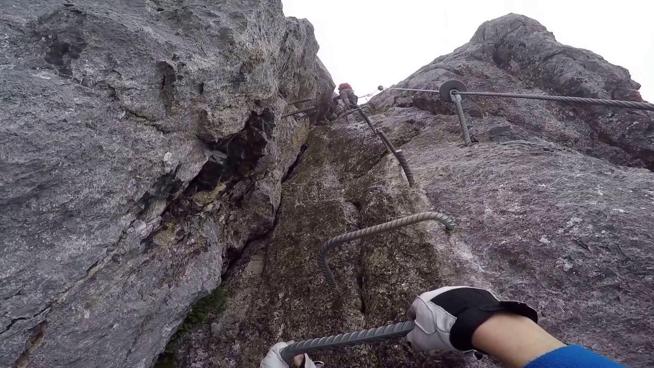 Klettersteig Ostschweiz : Was ist ein klettersteig bergleben