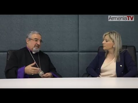 Armenia TV (Australia) - Interview with Bishop Haigazoun Najarian
