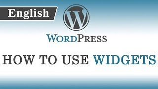 8.) How to use Widgets in wordpress || Also Header & Background Image Explanation
