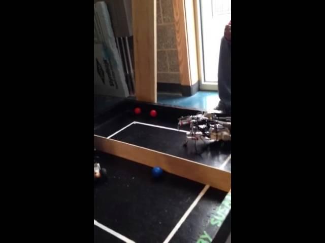 Ball bots battle