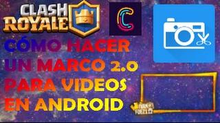 COMO HACER UN MARCO 2.0 en ANDROID