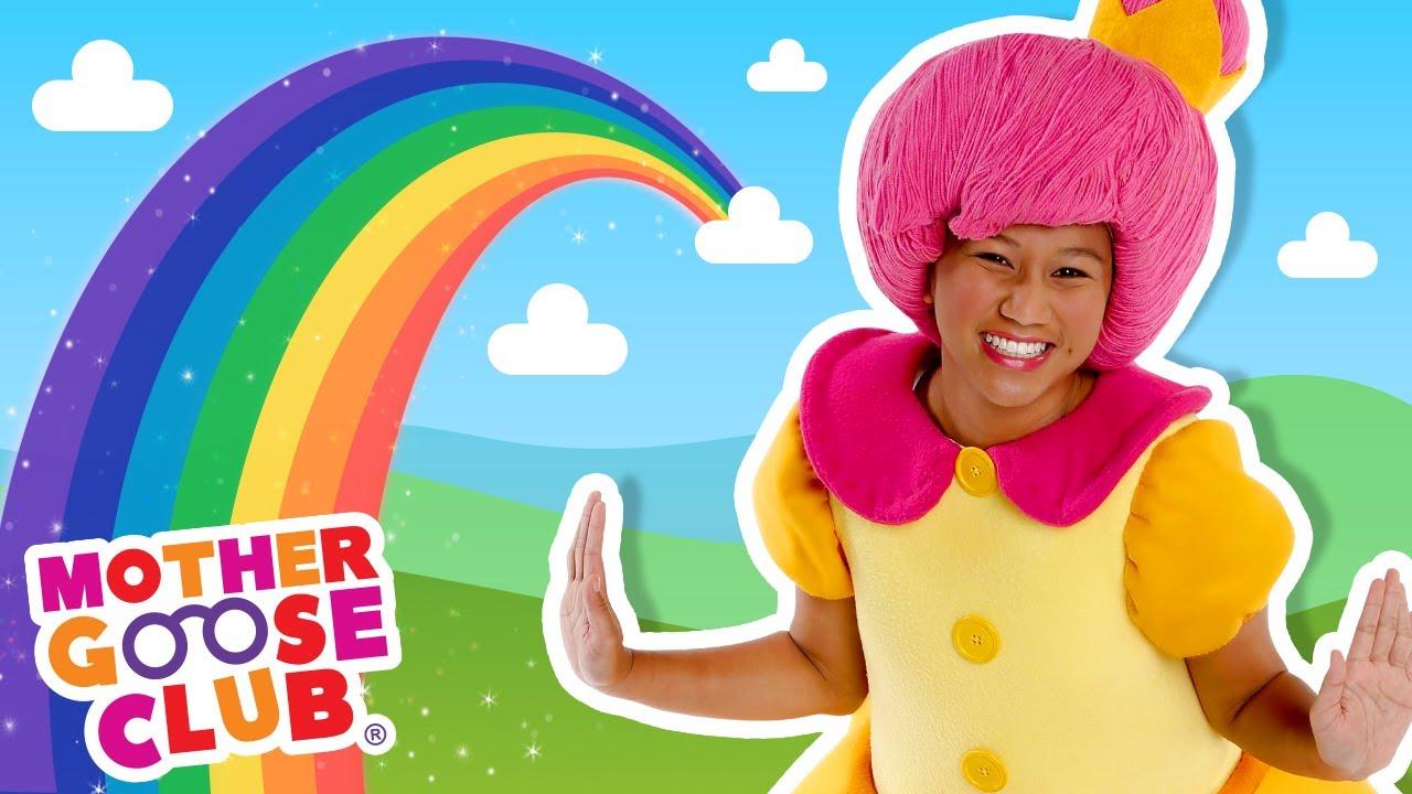 Rainbow, Rainbow + More | Mother Goose Club Nursery Rhymes