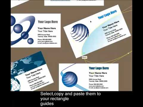 Making business cards in adobe illustrator part 1 youtube making business cards in adobe illustrator part 1 colourmoves