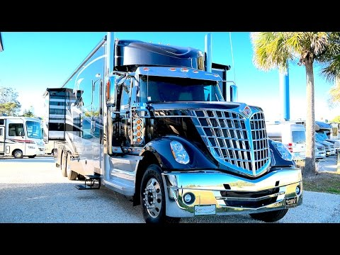 Renegade Ikon Super C Walk Through Rv On Freightliner
