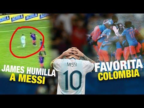 Colombia APLASTA a Messi y es la Favorita (Caño de James) - Colombia vs Argentina 2-0