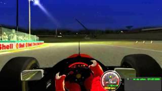 rFactor 13/07/2015 carro 1994 MClaren piloto mika hakinen pista interlagos noite.