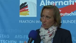 Beatrix von Storch AfD Fraktionssitzung 16.01.18