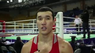 Адильбек Ниязымбетов. Интервью на Кубке Федерации