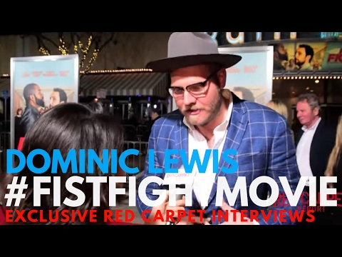 Dominic Lewis, composer, interviewed at the LA Premiere of Fist Fight #FistFightMovie