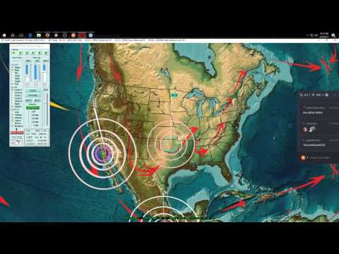3/22/2017 -- Earthquake warning for Pacific Northwest USA -- 2 week watch for M6.0 - M6.5