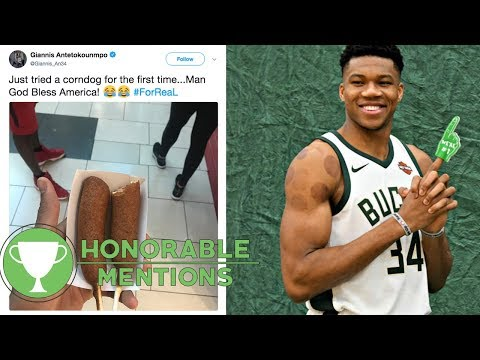 Giannis Antetokounmpo Goes CROSS COUNTRY Reviewing FOOD! | HM