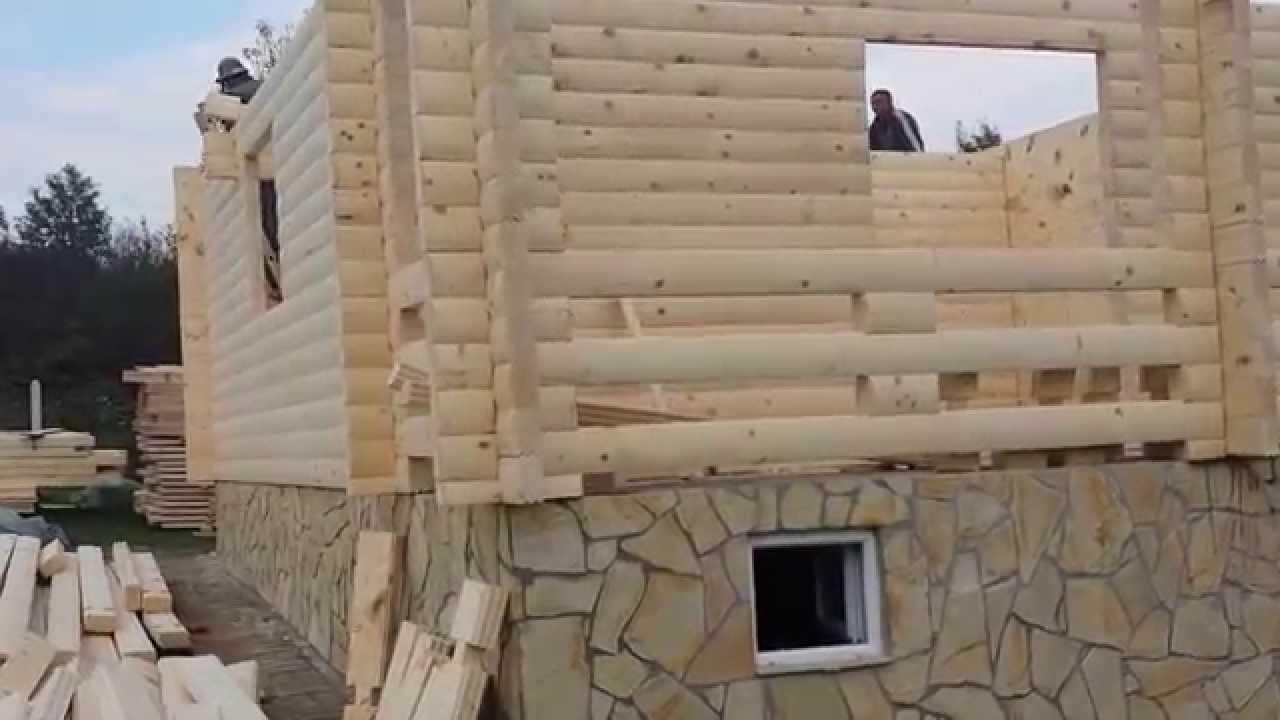 Izgradnja brvnare