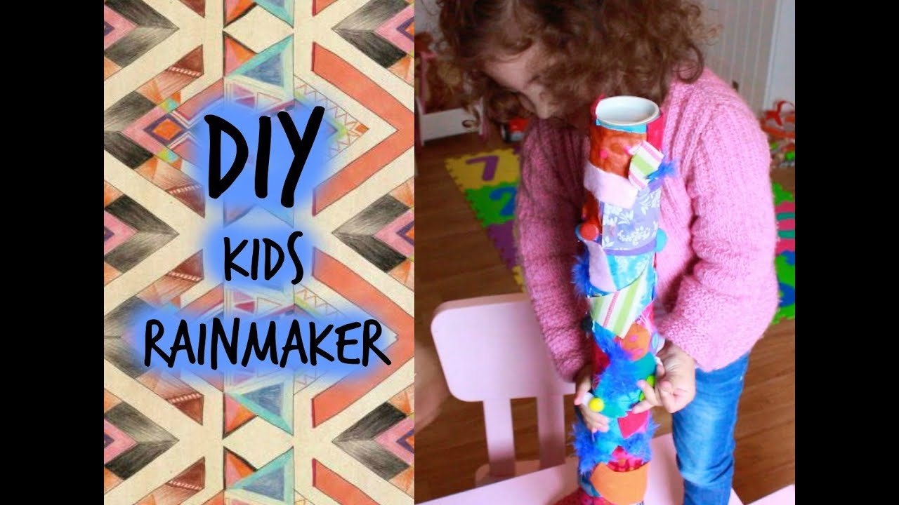diy kids rainmaker (south african musical instrument) - youtube