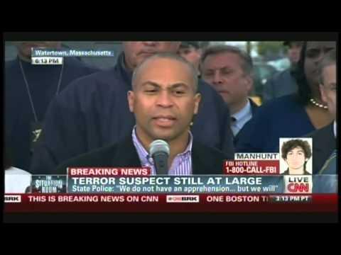 Boston Marathon Bombings Press Conference (April 19, 2013, 6:03 PM) [1/2]