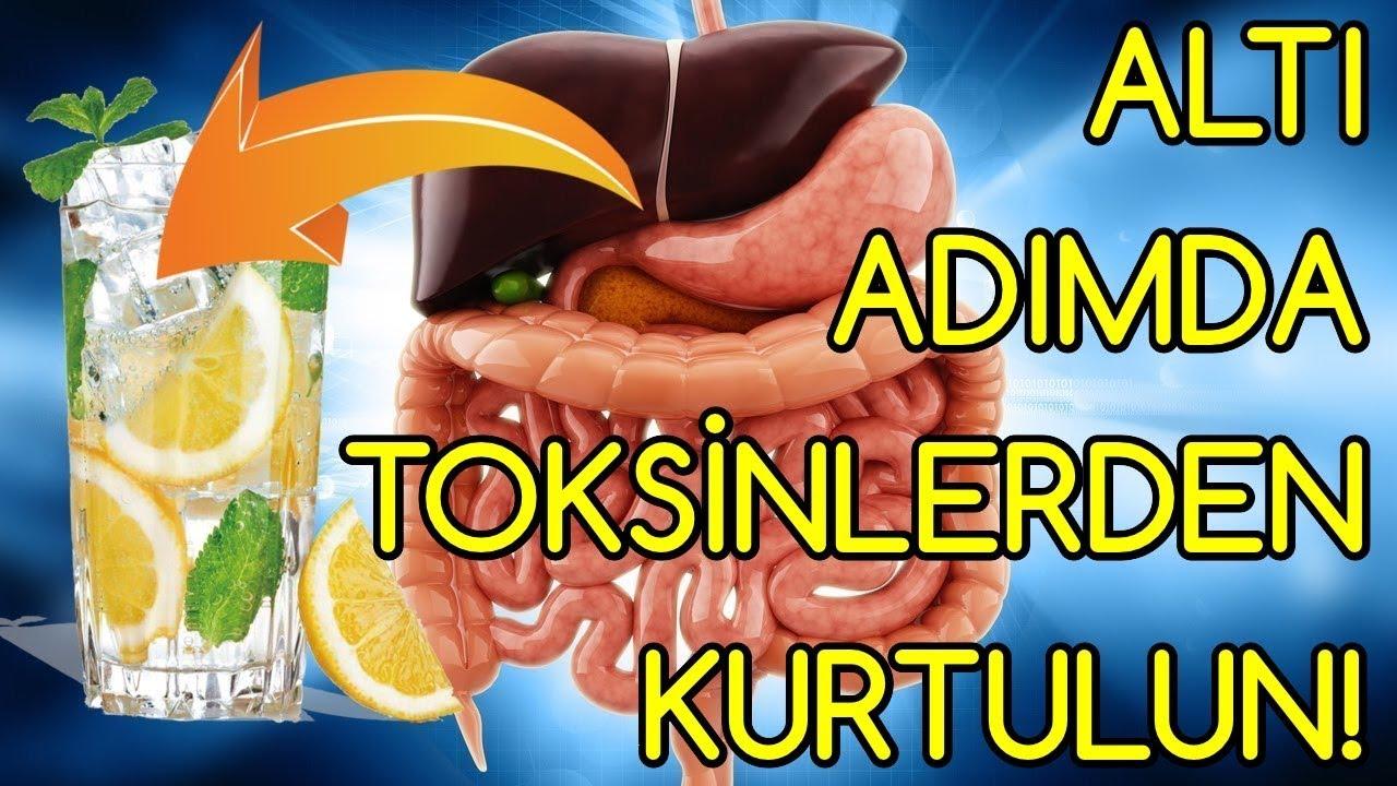Altı Adımda BEDENİNİZDEKİ TOKSİNLERDEN KURTULUN! - YouTube