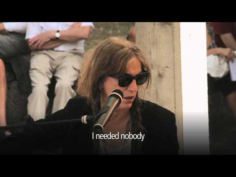 Meetings on Art: Patti Smith (1)