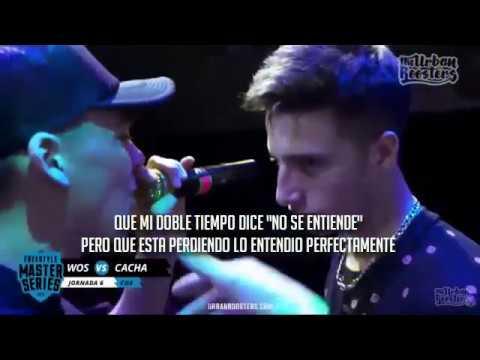 Minuto De Cacha Vs Wos Con Letra Fms Argentina Jornada 6