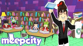 MEEPCITY✏️TODAY IS DAYS OF ACCOUNTS, READING WITH MY STUDENTS🏫 - ROBLOX