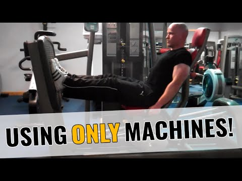Rage Against The Machine - Full Body Workout Using Only Resistance Machines