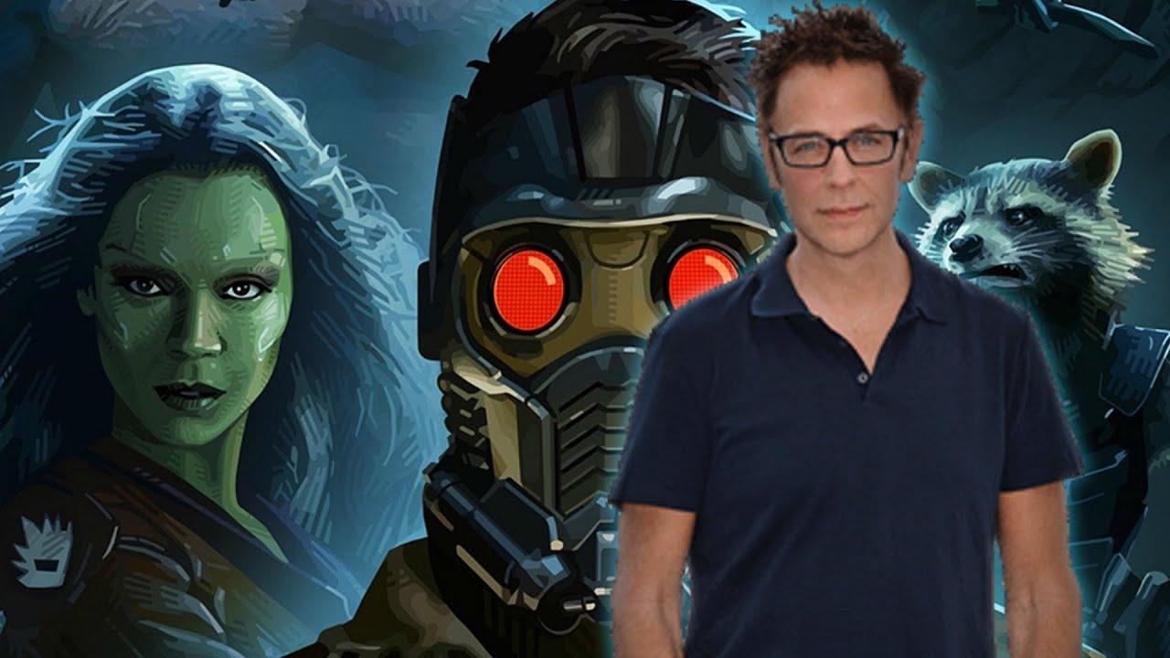 James Gunn Update: James Gunn Gives Guardians Of The Galaxy Vol. 2 Update