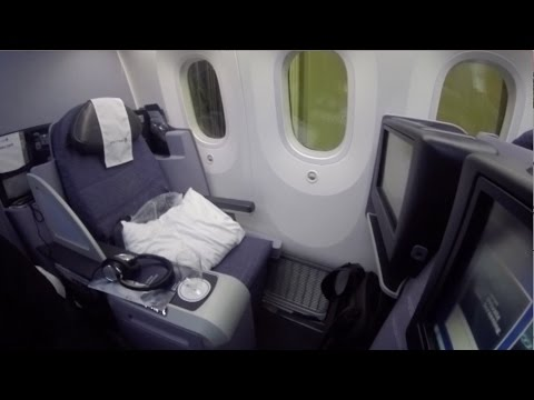 UNITED AIRLINES 787 Business First GIG-IAH