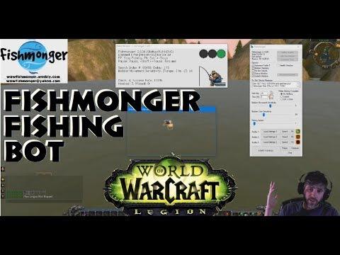 Fishmonger! World Of Warcraft Fishing Bot, Updated For WOTLK! Vanilla Bug Fixes! Me Singing!