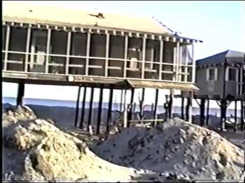 Hurricane Hugo Destruction & Cleanup, Pawleys Island, SC. 1989