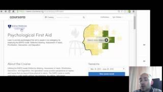Первая психологическая помощь (бесплатный онлайн курс) psychological first aid(, 2015-07-18T14:33:10.000Z)