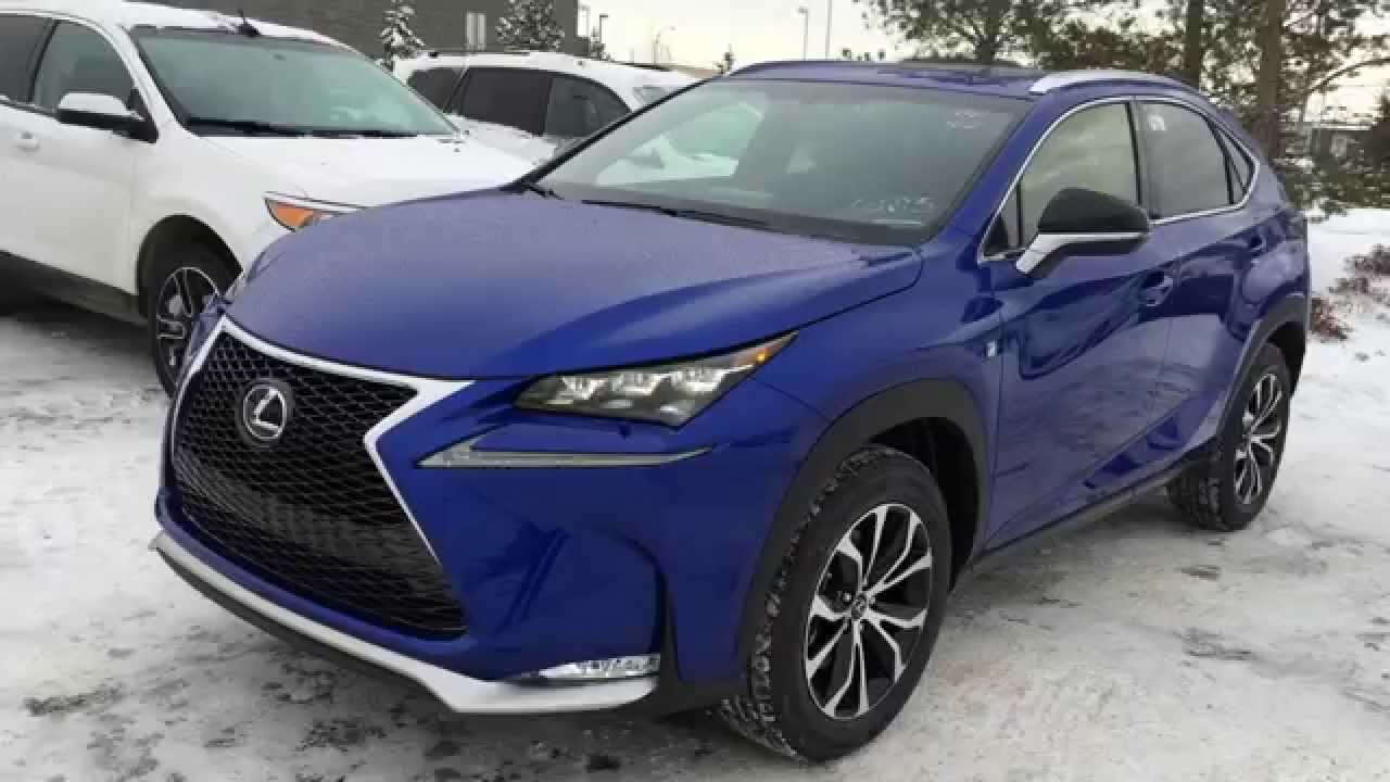 New Ultrasonic Blue 2015 Lexus NX 200t AWD F Sport Series ...