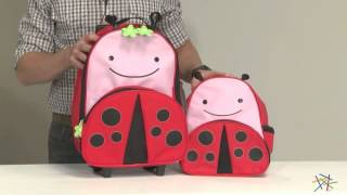 Skip Hop Zoo 3-piece Travel Set - Lady Bug - Product Review Video