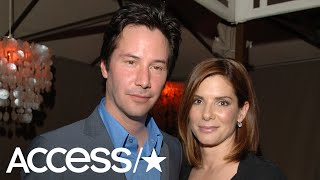 Sandra Bullock Admits She Crushed On Keanu Reeves While Filming 'Speed' | Access