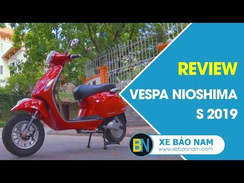 Vespa Nioshima S 2019 ► Xe điện Vespa đẹp Nhất Thị Trường 2019