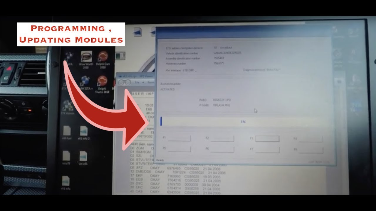 BMW How To Use WinKFP To Program Modules & Update Them